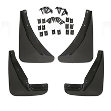 HL120-24 Mud Flaps Guards Splash Molded 4 Piece For Dodge Challenger 2015-2018