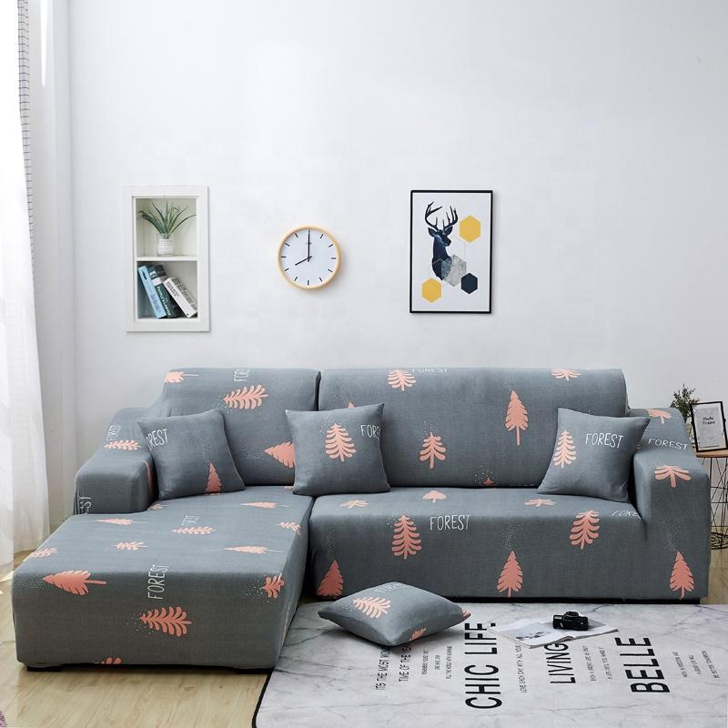 الحديث نمط عينة قابلة كرسي الغلاف غطاء أريكة شكل l