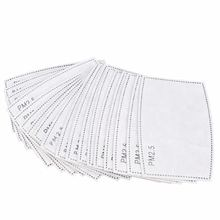 Vervangbare 5 Ply Gezichtsmasker <span class=keywords><strong>Filter</strong></span> Pad Pm2.5 Met Actieve Kool Stof Pm 2.5 Filters Air Ffp3 Bescherming <span class=keywords><strong>Masker</strong></span> N95 <span class=keywords><strong>filter</strong></span>