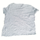 Duster industry use cloth absorbent quality mutilated low price bulk dark color mixed used cotton t shirts rags