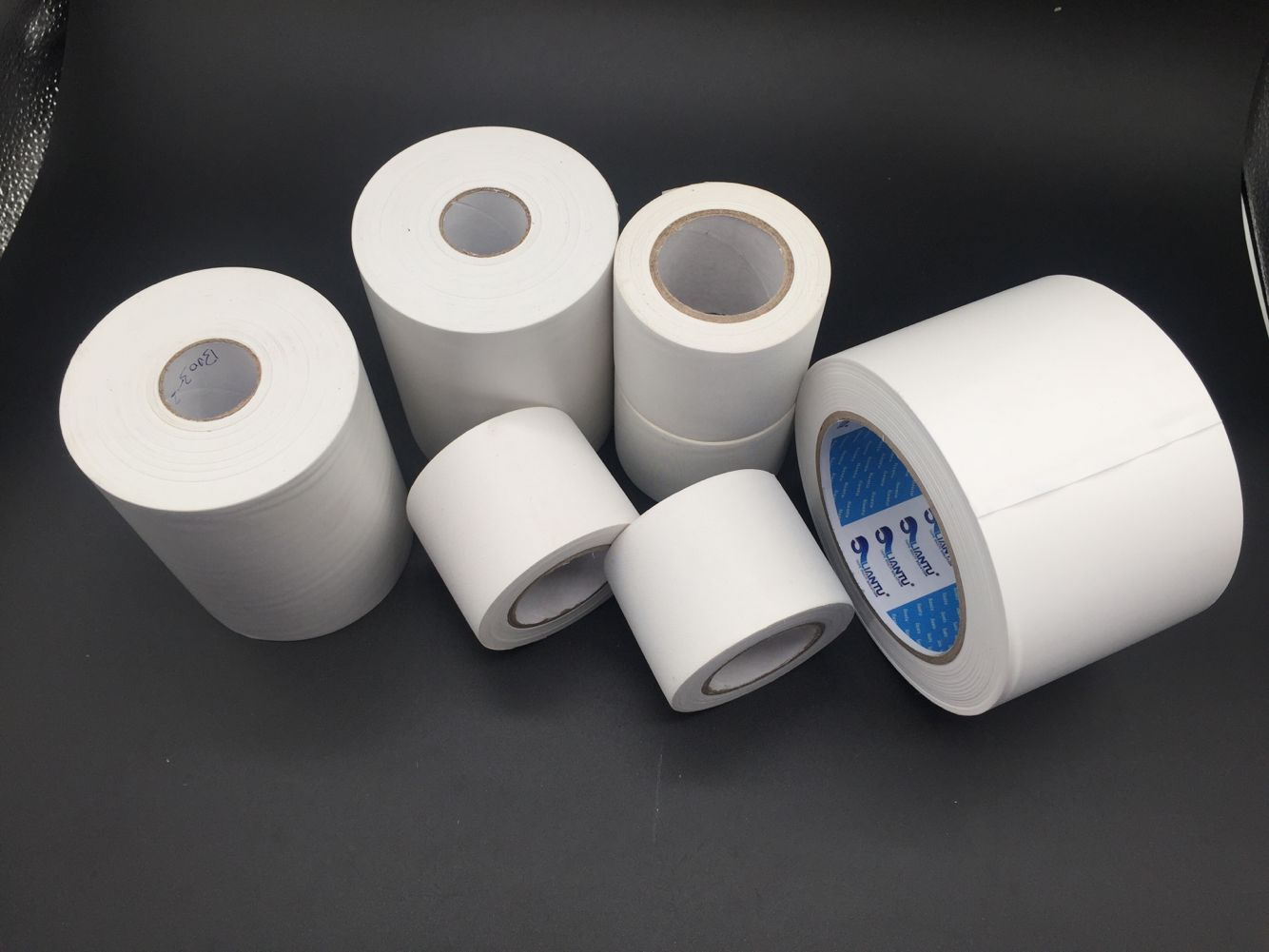 HVAC parts PVC wrapping tape without glue for air conditioner tape