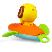 Dongguan pushi indusry professionalCartoon kajak set <span class=keywords><strong>baden</strong></span> pull string play baby hond bad speelgoed injectie plastic service maker