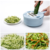 10 Interchangeable Blades with Peeler Hand Protector Storage Container Vegetable Slicer Cutter Chopper