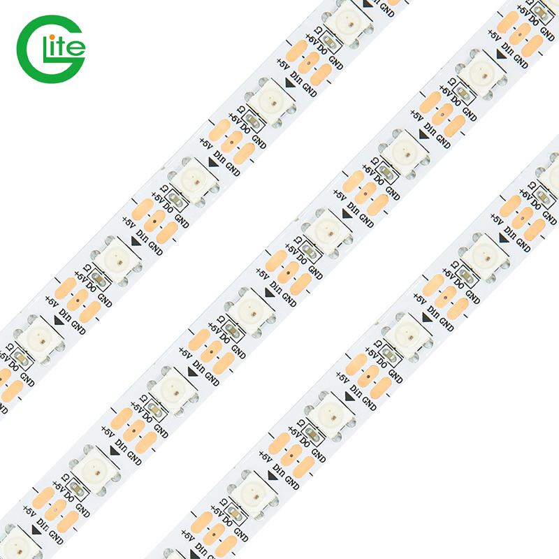 Two Years Warranty Ce Rohs Certificate Waterproof Ws2812 144led Ws2812b India Addressable White Led Strip