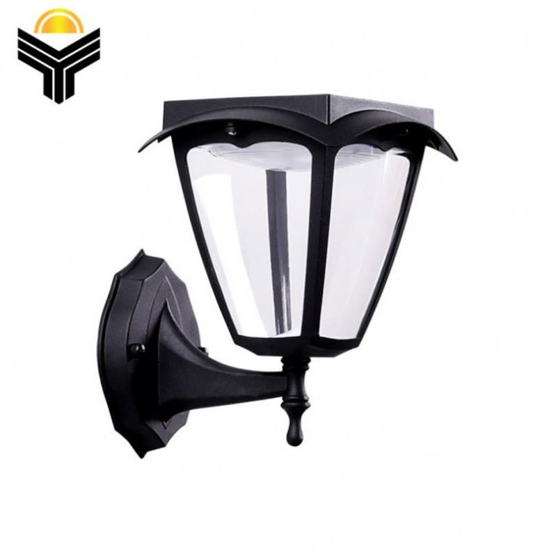 Hot Sale Customized Logo Solar Up And Down Led Outdoor Waterproof Wall Light