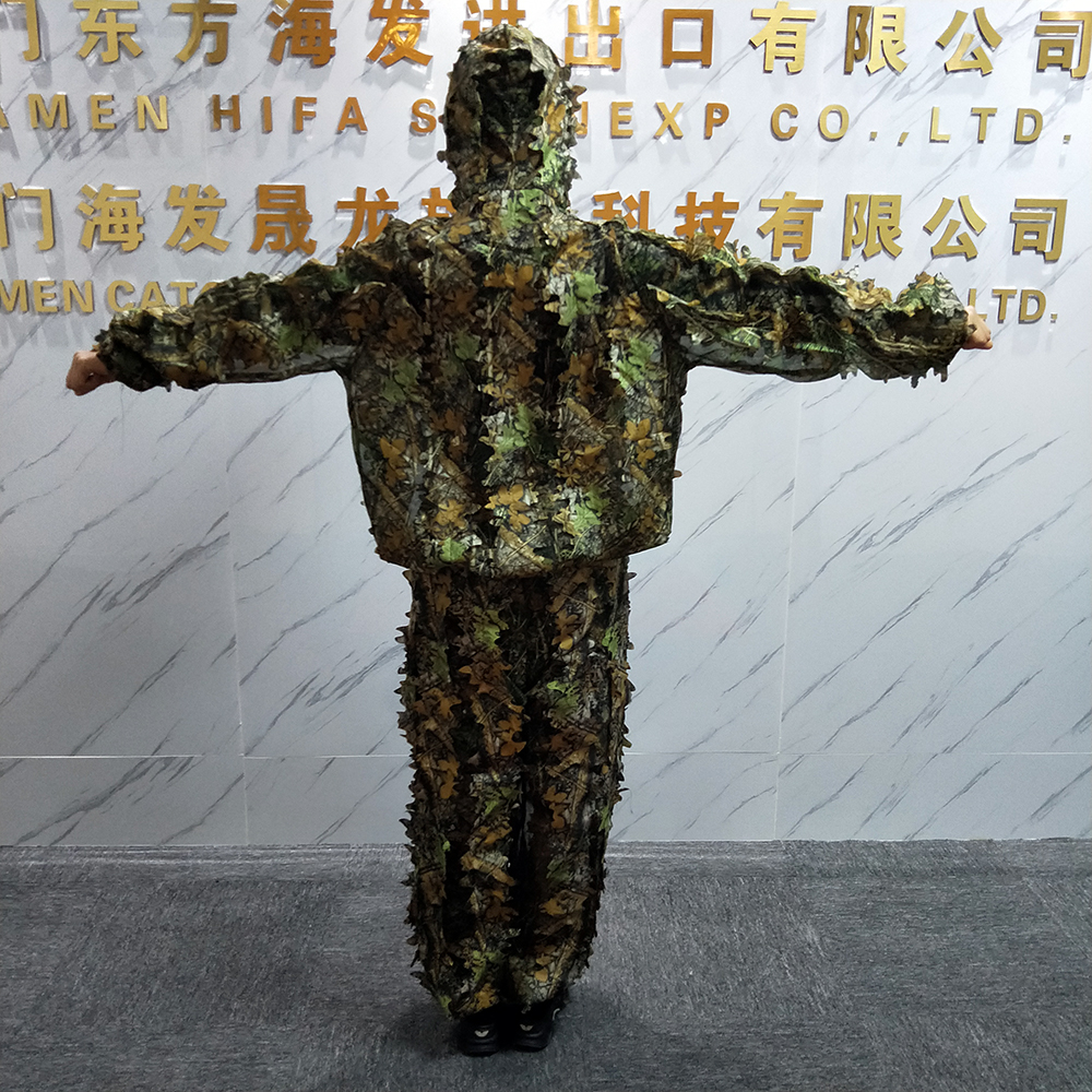 Outdoor camouflage suit sniper ghille suit for hunting Military activities camo clothing