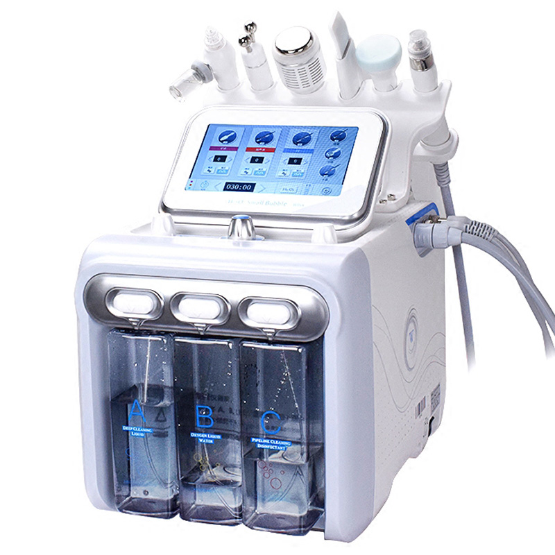 2019 Newest Facial Cleaning Beauty Device hydra 6in1 H202 beauty machine Facial machine фото