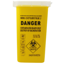 Permanente Make-Up 1L Plastic Slijpsel Container Medische Biohazard Naalden Prullenbak <span class=keywords><strong>Tattoo</strong></span> Afval <span class=keywords><strong>Doos</strong></span>