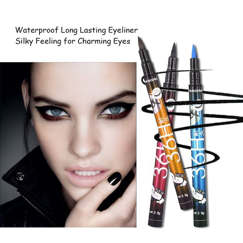 24 hour long lasting eyeliner permanent liquid eyeliner private label supported