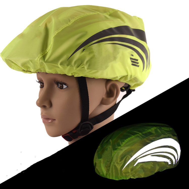 Customized Reflective Bicycle Helmet Cover for Wholesale