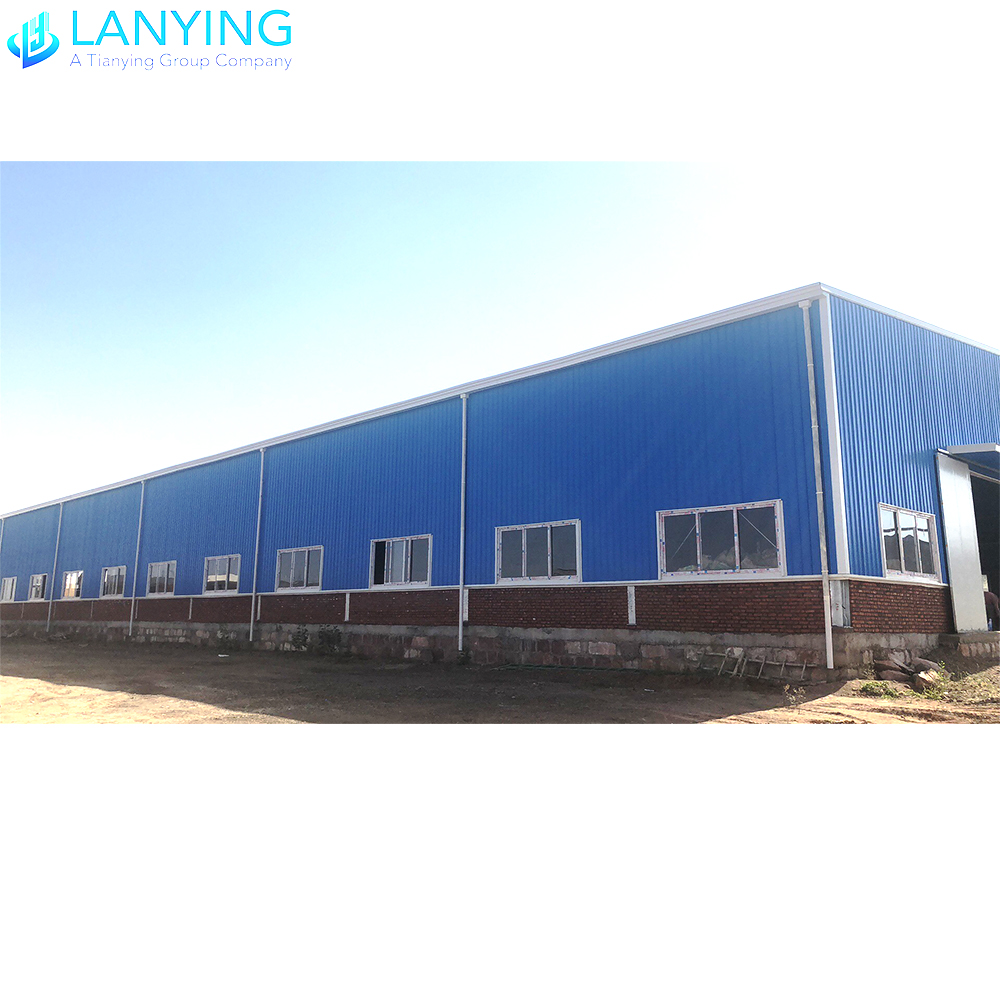 HOT-SALE! Good Supplier Design Prefabricated Steel Construction Factory Building Stable Warehouse For Sale