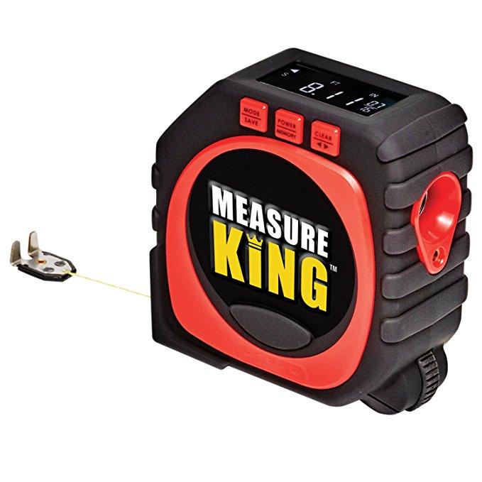2020 Digital Tape Measure Measure King 3-in-1 LED Digital Display Laser Tape Measure As seen On Tv