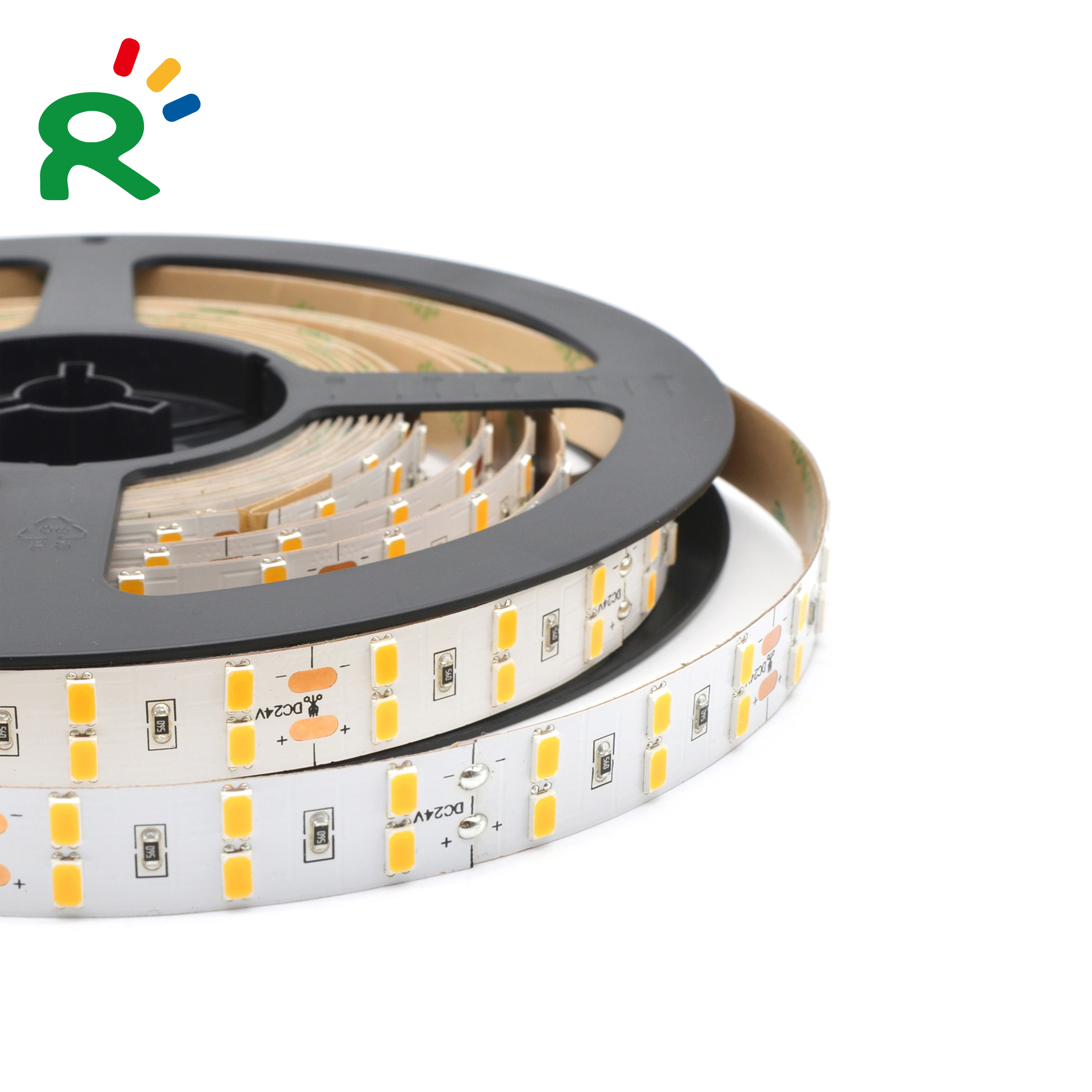 Super Bright SMD5630 120LEDs/m 15mm Width High CRI Double Row LED Flexible Strip 5m per roll
