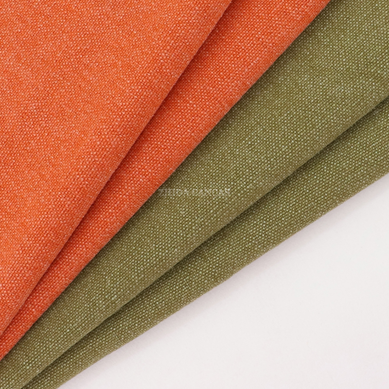 China Fabric Factory Hot Sale poly Cotton Washed Canvas Fabric In bag fabric