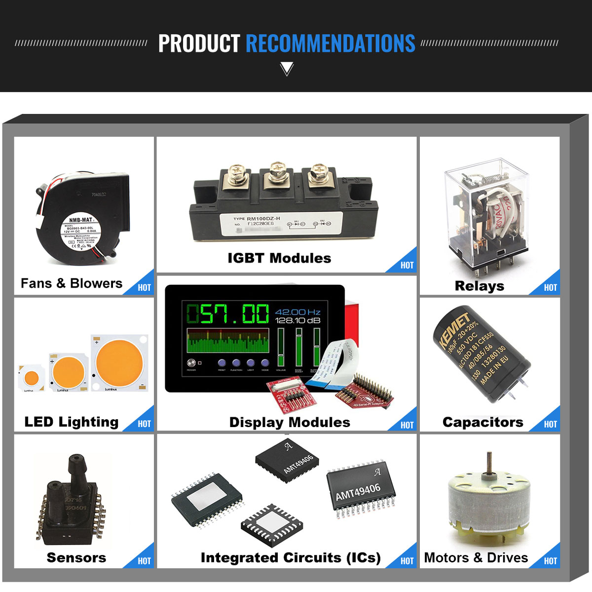 NUOVO originale di 12.000MHZ MT/30/30/-40 + 85/12PF componenti Elettronici in azione