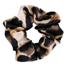 Женские резинки для волос с леопардовым принтом, женские резинки для волос, аксессуары для волос 2020(Китай)