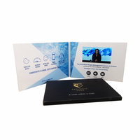Customized High Quality Lcd Video Brochure, Video Postcard,Video Flyer