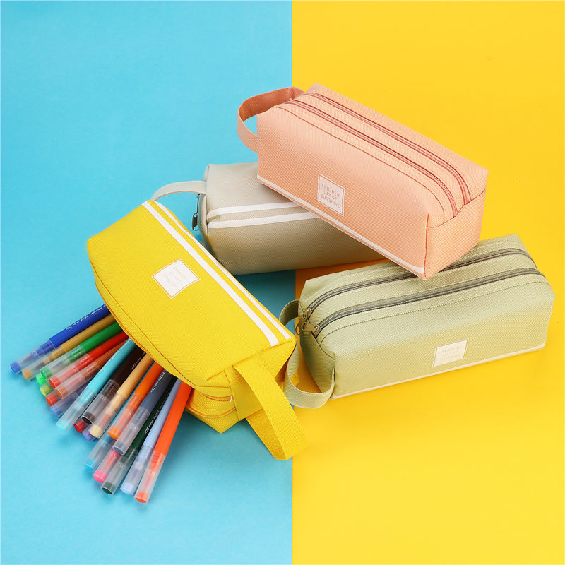 product-GF bags-New arrival fashion Cute Pencil Case Marble Pattern Pen Bag Pencil Box Pencil Case S