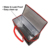 Custom Insulated Commercial Food Delivery Bag Heated Cooler Bag Warmer