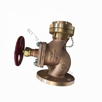 JIS OEM high quality marine bronze fire fighting valve straight type hose valve