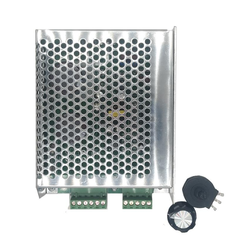 180VDC بوم جهاز تحكم في محرك التيار المستمر 100W 200W 300w 400W 500W جهاز تحكم في محرك التيار المستمر 220v 4A 6A ل PM العاصمة المحرك
