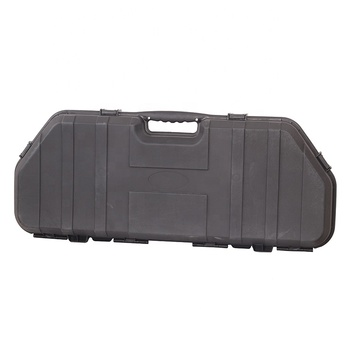 High Performance Black Bow and Arrows Case Archery High Strength Plastic Compound Bow Case