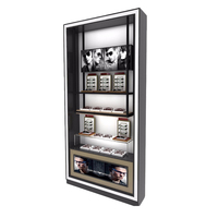 Best Selling With Lock Wood Sunglasses Display Used Cabinets Optical Frame Displays