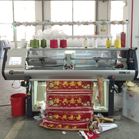 flat knitting electric jacquard electronic loom machine for fabric