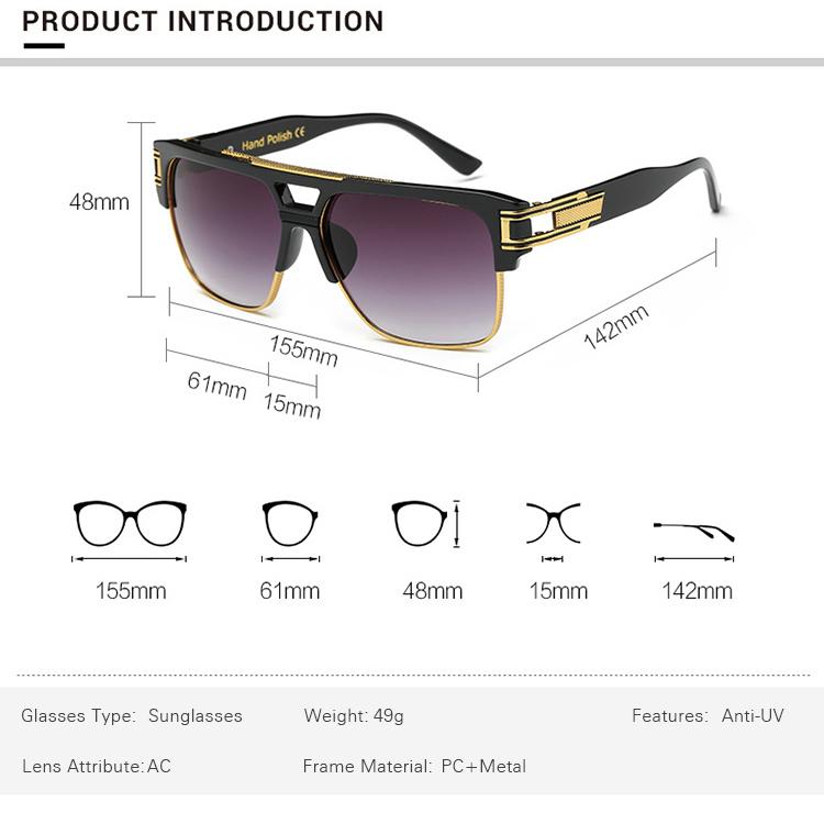 SKYWAY классические роскошные мужские солнцезащитные очки гламур моды бренд солнцезащитные очки для женщин, зеркальные в ретро-стиле; Винтажные босоножки с квадратными дизайнерские оттенки