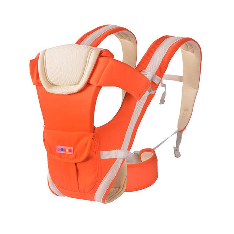 Großhandel hohe qualität polyester atmungs stil weiche ergonomische baby träger mit hüfte sitz