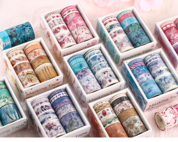 Custom Wholesale Make Printed Cute kawaii Rose Gold Foil Washi Masking Paper Tape, Japanese Washi Tape Custom
