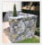 natural rough surface fireplace stone panels  wall cladding and irregular paving stone outdoor stepping stone