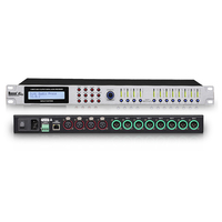 Network Having 4x8 Audio Matrixs Digital DSP Audio Processor