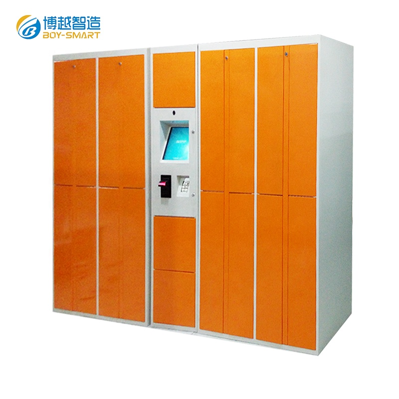 The factory custom gym smart laundry lockers