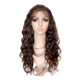 Top sale deep wave full lace wig curly full lace human hair wig