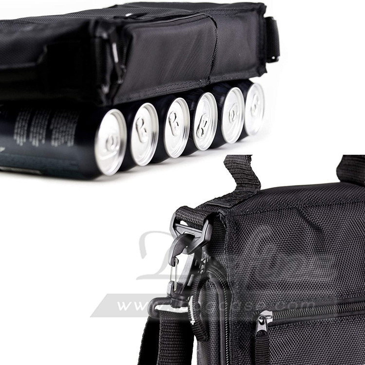 Wholesale Waterproof Insulated Golf Cooler Beer Bag Six Pack