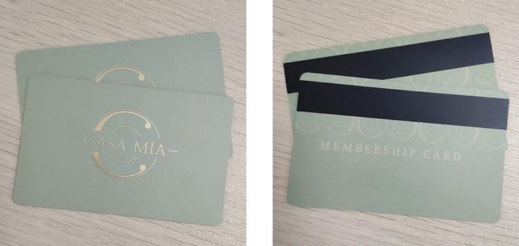 member magnetic card