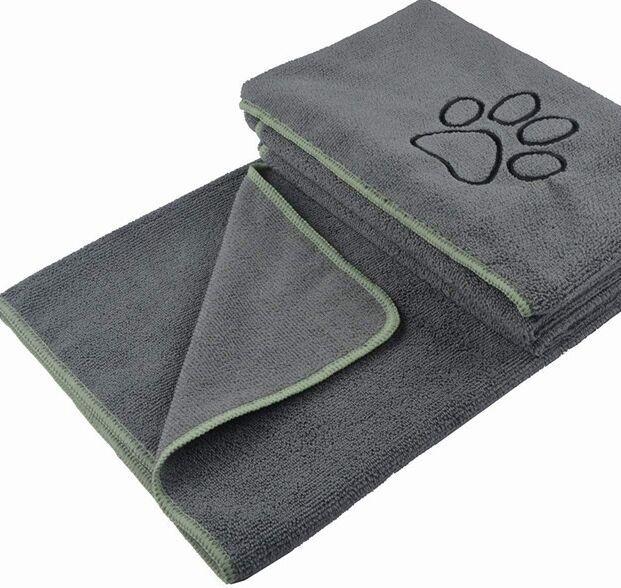 कुत्ते तौलिया स्नान तौलिए सुपर शोषक तौलिया