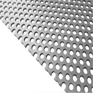 China Online Shopping High Strength Perforated Titanium Mesh Sheet Wholesale