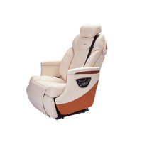 Single electric auto seat luxury leather car seats for luxury cars