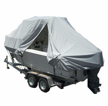 Customized T-Top Boat Cover Waterproof Hard Top Boat Cover with Durable 300 Denier Polyester