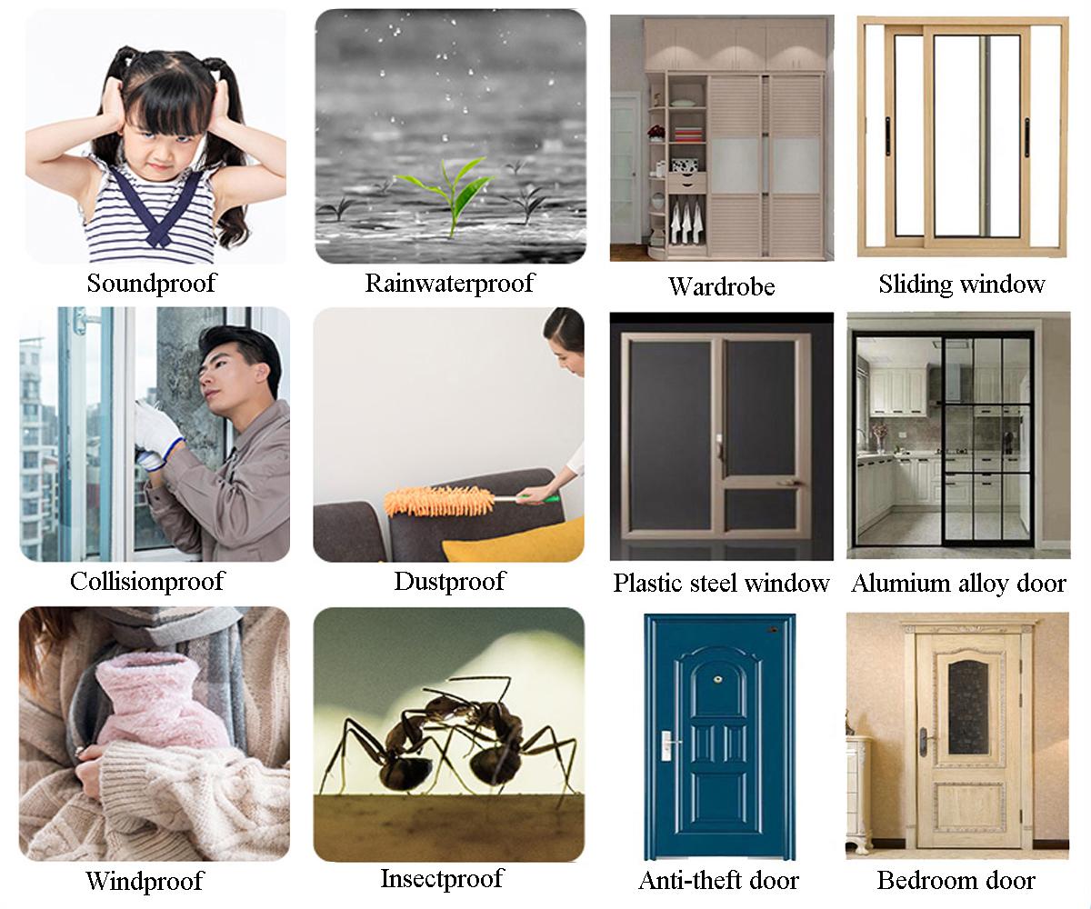 จีน/Xingguo/68*70 มม./ประตูและ Windows/ซิลิโคน/อากาศ Strip