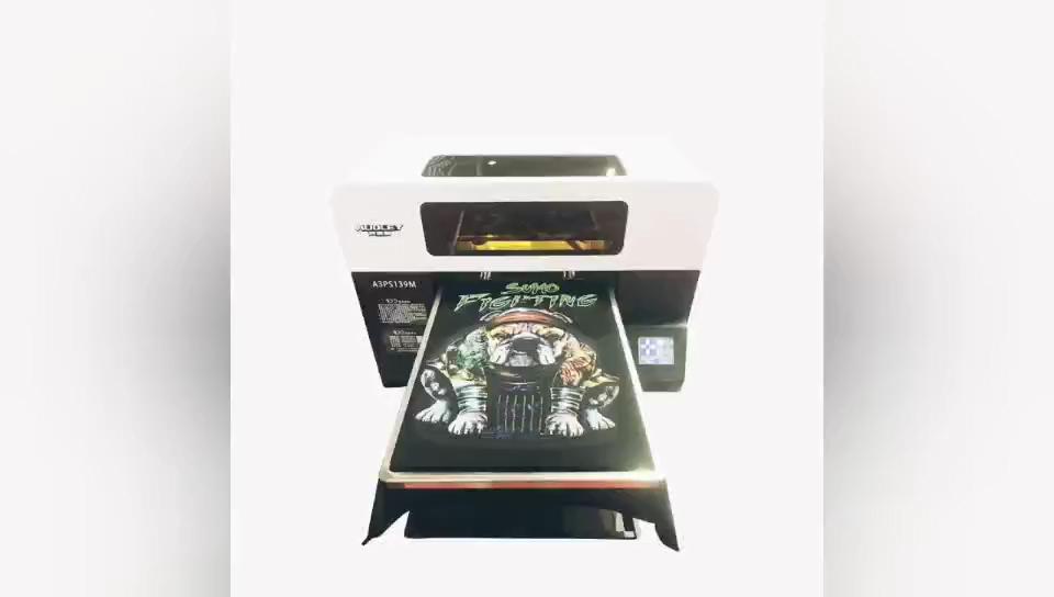 Digital t-shirt máquina de impressão Jato de Tinta portátil fácil de usar barato