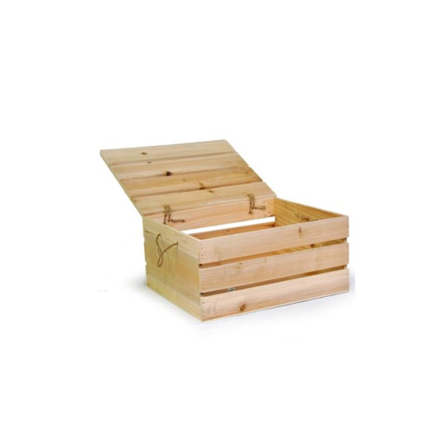 Wood Storage Box With Swing Lid,Home Decorative Storage Crate For Bedroom  Living Room - Buy Wooden Crate Box,Wood Crate With Lid,Wood Box Crate