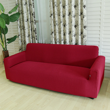 High Quality Red Spandex Sofa Cover Stretch Couch Stretchable Sofa Cover