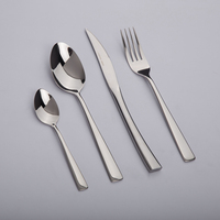 kitchen dining bar dinnerware sets luxury tableware set stainless steel bulk cutlery