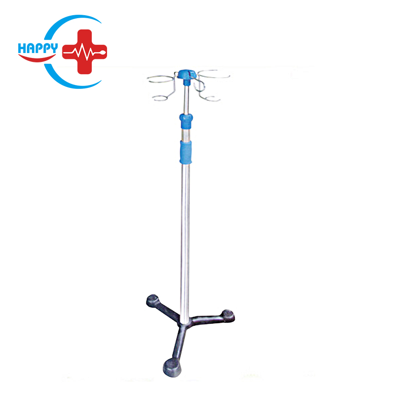 HC-M093 Hospital Cheap price Medical Stainless Steel  Infusion Stand ,IV Pole IV Drip Stand