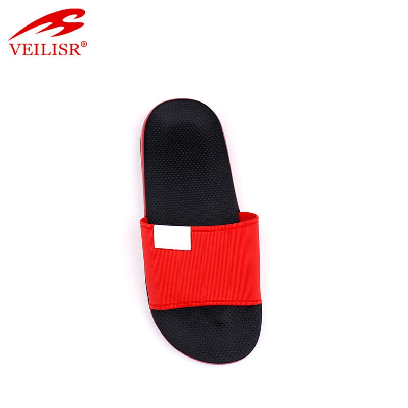 Outdoor summer beach PVC upper slippers men slide sandals