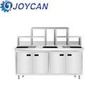 Hot Sale Stainless steel Bubble Tea Booth Counter Coffee shop counter Coffee equipment table