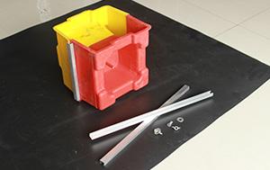 Concrete clc fabricação de cimento manual oco moldes interligadas bloco de parede